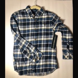 Boys O'Neill flannel small